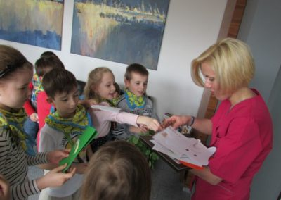 Wizyta dzieci w PSP