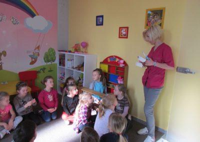 Wizyta dzieci w PSP 2