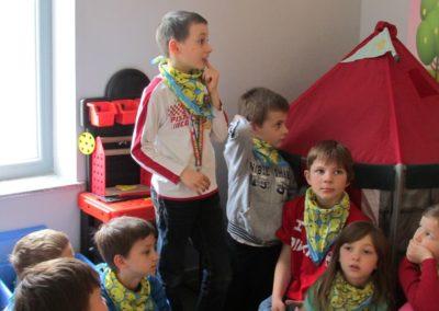 Wizyta dzieci w PSP3