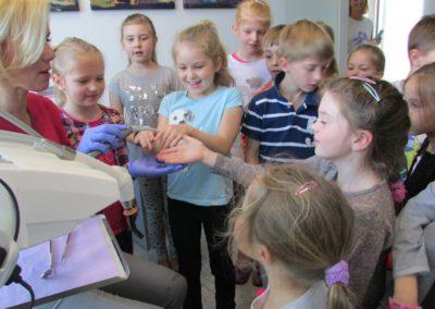 Wizyta dzieci w PSP5