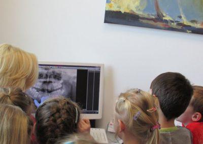 Wizyta dzieci w PSP7