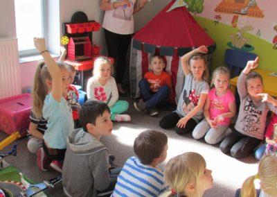 Wizyta dzieci w PSP8